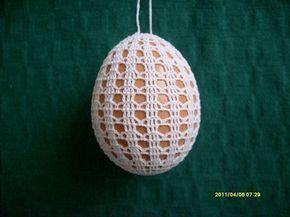 capa de ovo em crochê