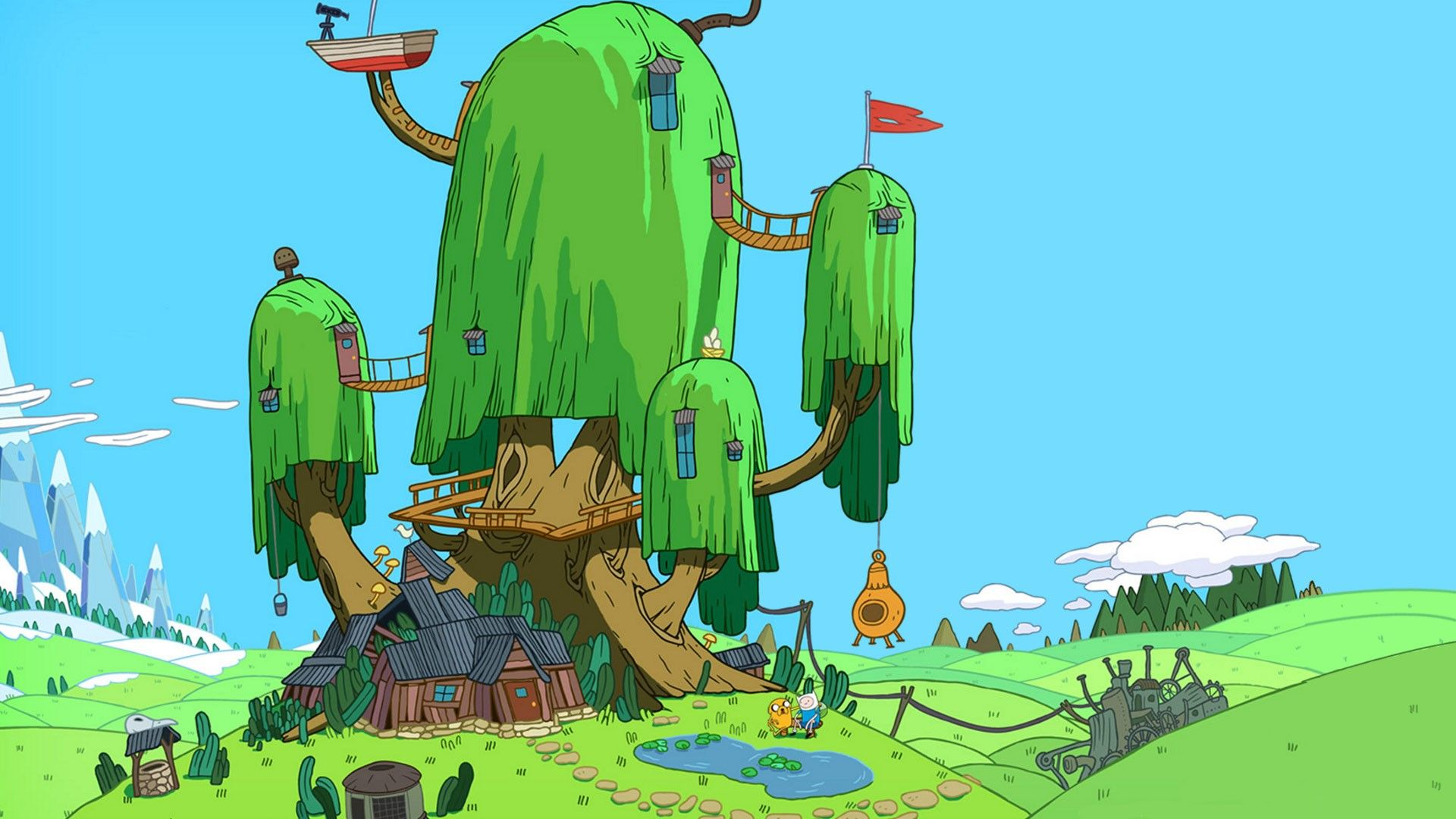 Adventure Time Adventure Time With Finn And Jake Tree House