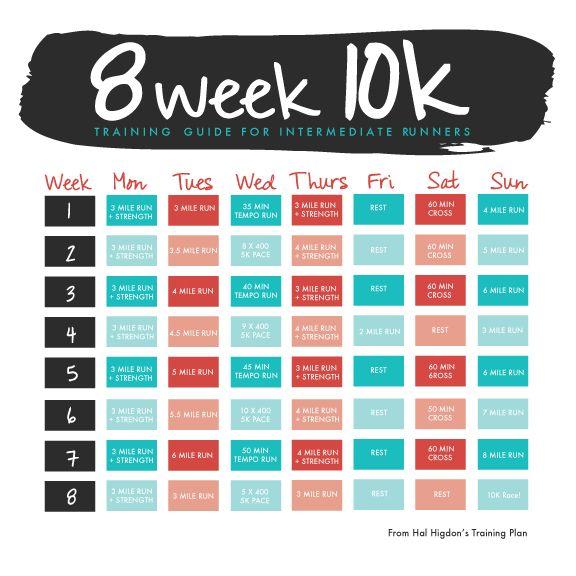10k Training Guide for Intermediate Runners — drift design co.