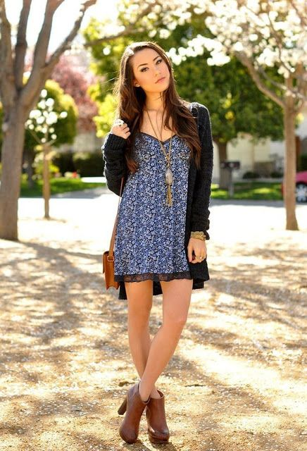 Increibles vestidos casuales para señoritas ¡Moda en vestidos!