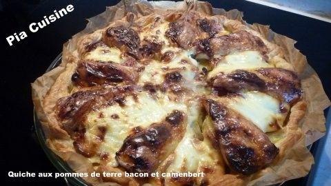 Quiche Aux Pommes De Terre Bacon Et Camembert Pomme De Terre