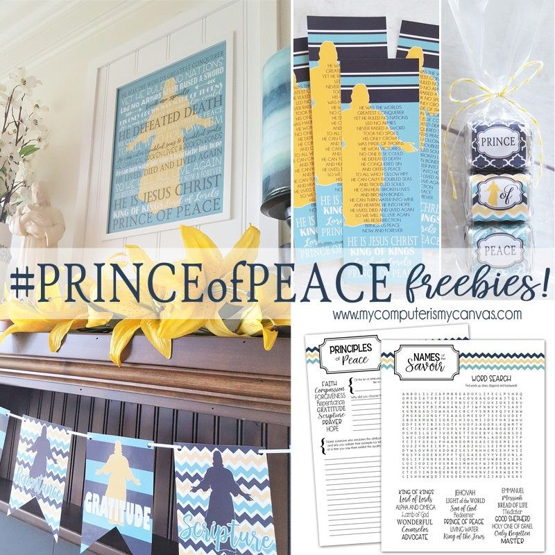 Princeofpeace Free Prince Of Peace Easter Kits The Red Headed