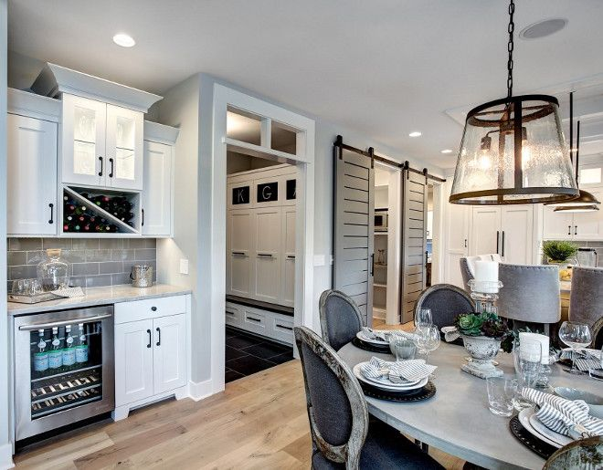 Best Kitchen Layout Kitchen With Wet Bar In Dining Area Opens 640 x 480
