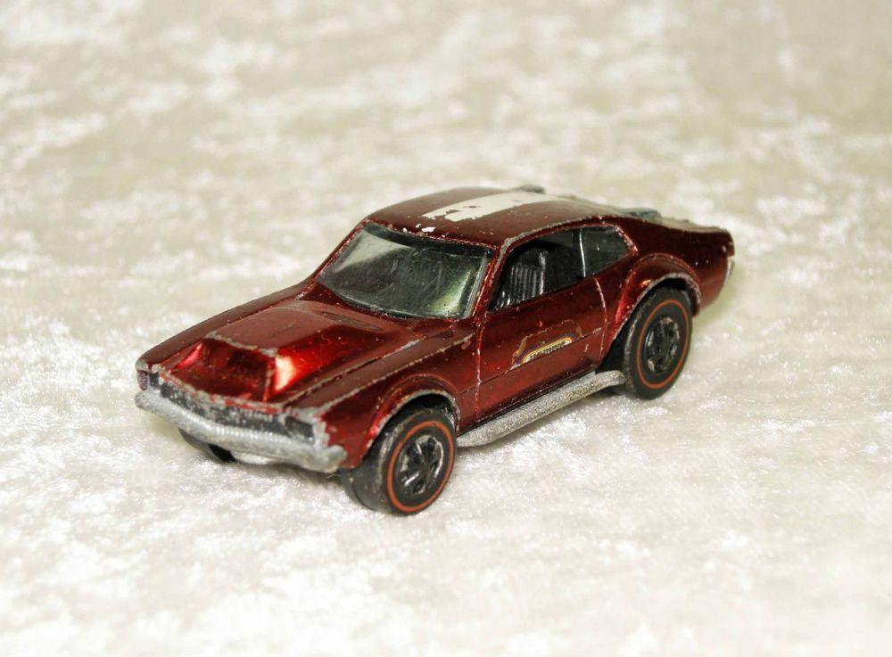 Hotwheels Redline Red 1969 Mighty Maverick Mattel Ford Hot