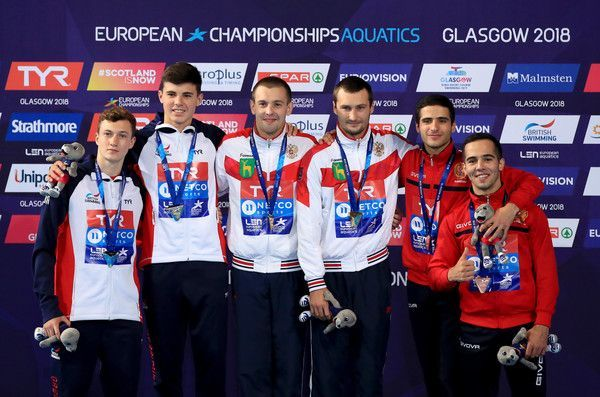 Diving  European Championships Glasgow 2018 Day Eight