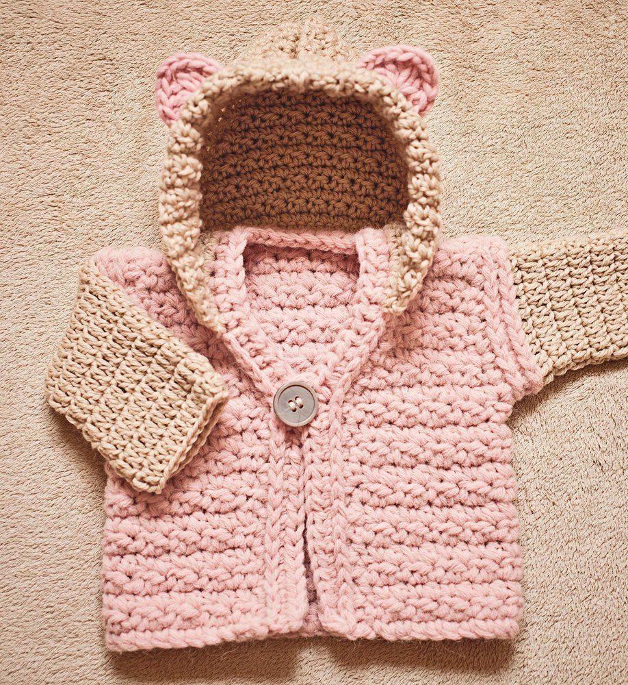 Super Bulky Hooded Vest | Babykleidung, Kleinkinder und Häkeln