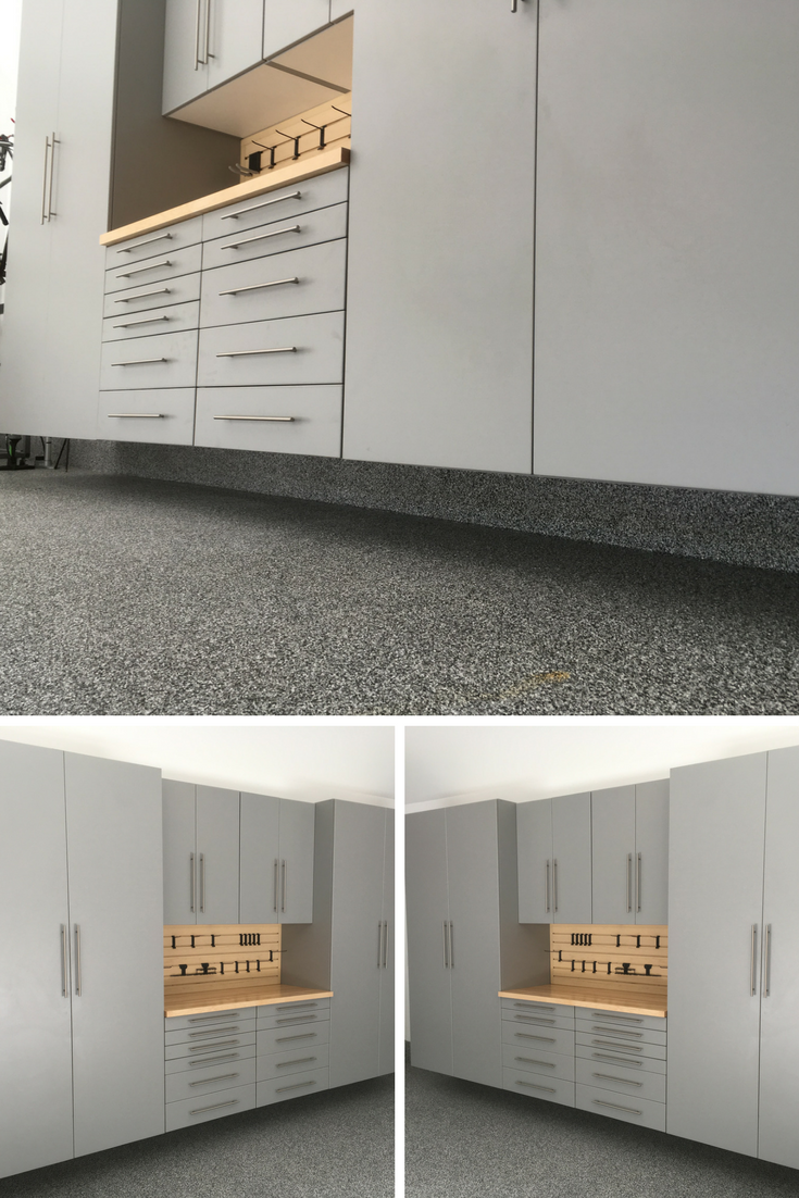 When Cabinets Are Mounted Off The Garage Floor You Can Easily