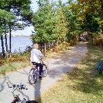 biking  Boardman Lake Trail