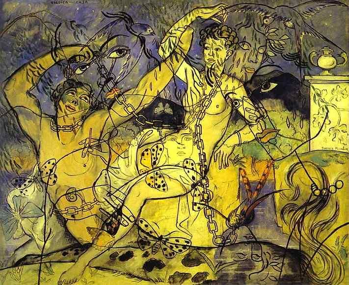 Francis Picabia(1879-1953)「Villica Safe」