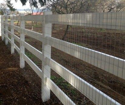 Vinyl Rail Fencing | PVC Fence | Vinyl Privacy Fence | PVC Vinyl ...