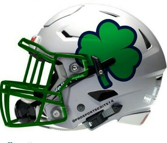 acffeb23fd3a Notre Dame | NFL/NCAA Concept Helmets | College football helmets ...