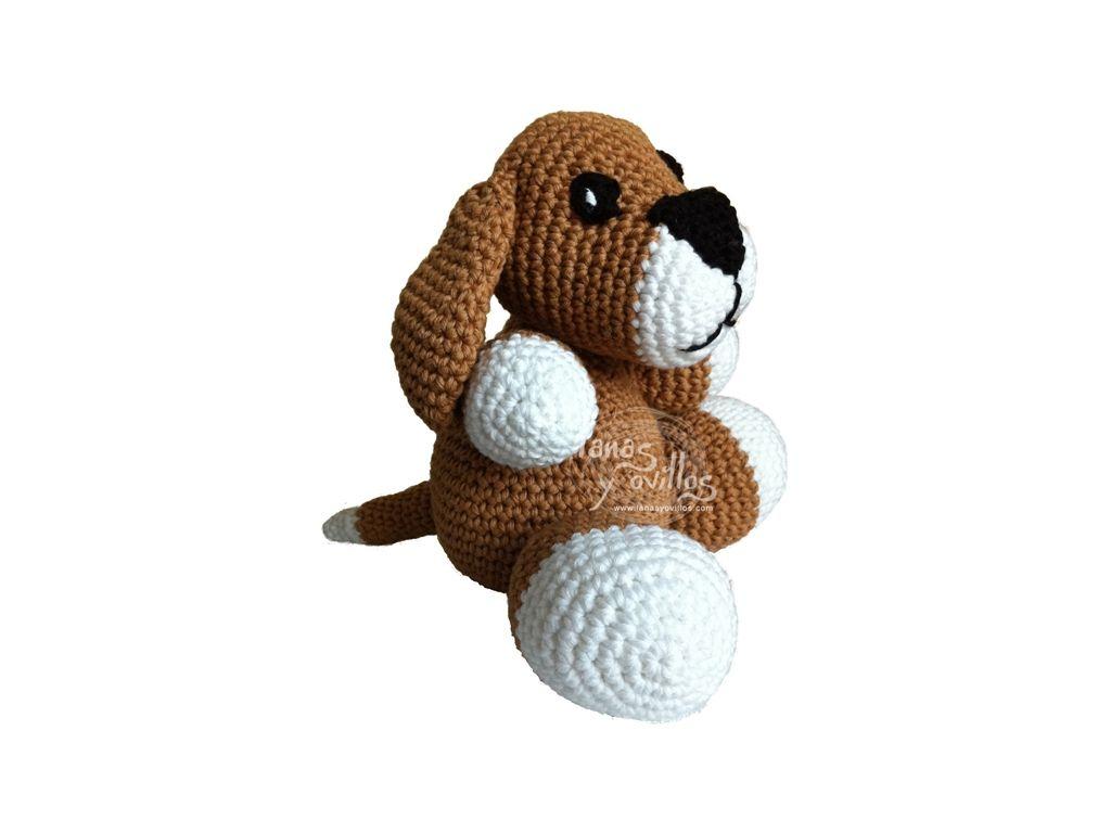 PERRO   Lanas y ovillos   Crochet   Pinterest   Patrones amigurumi ...