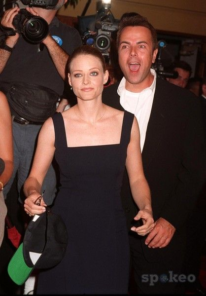 Jodie Foster and Randy Stone
