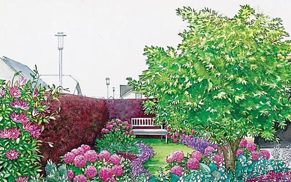 Garten Fur Faule Viel Spass Wenig Arbeit Vorgarten Vorgarten Ideen Balkon Blumen