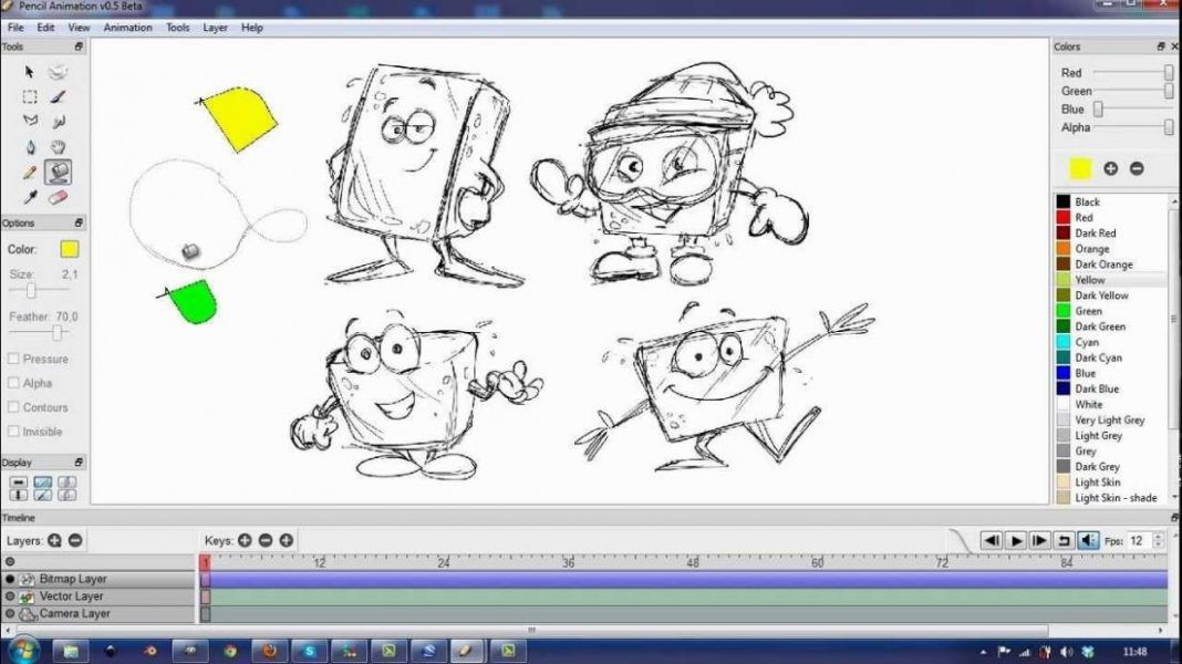 2d Animation Software Free Online