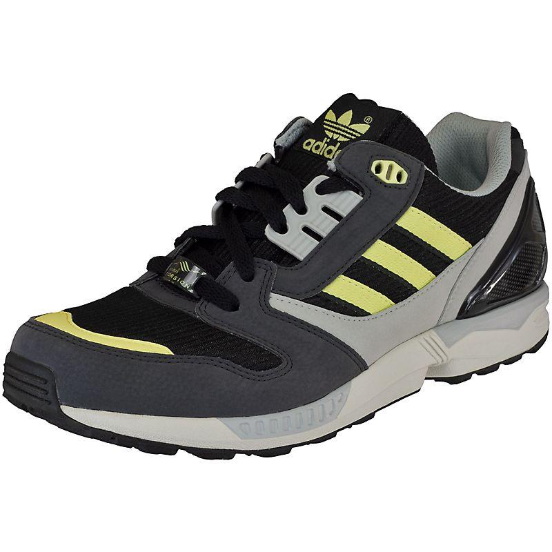 Sneaker Adidas ZX 8000 black/grey/yellow - entdeckt im Harlem Streetwear  Shop!