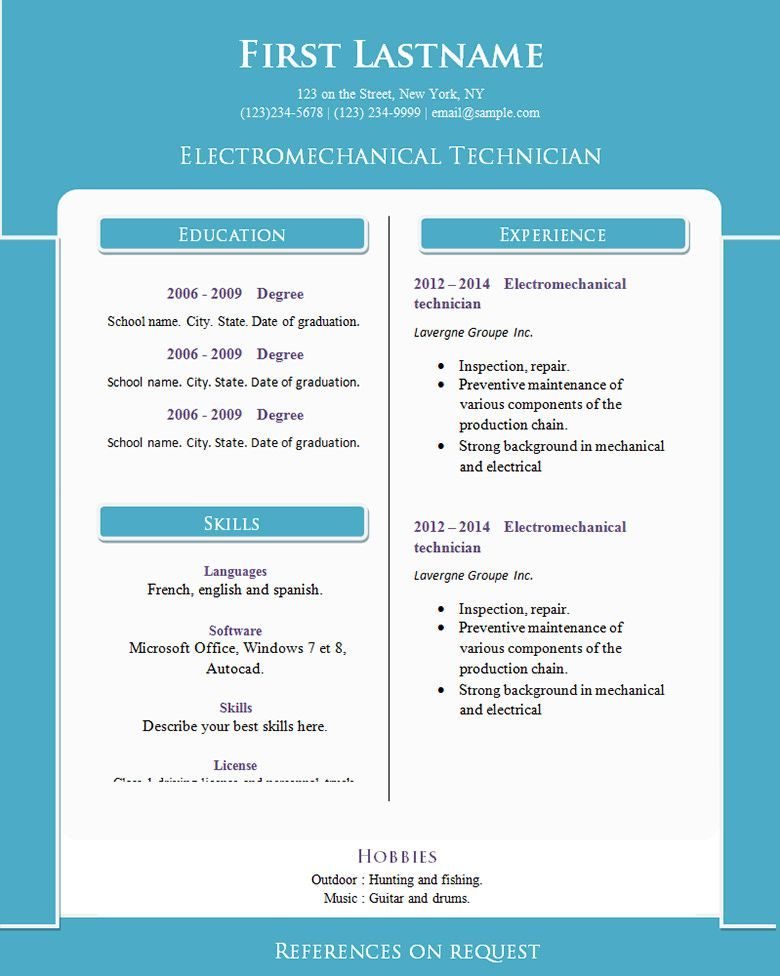 70+ Basic Resume Templates PDF, DOC, PSD Basic resume