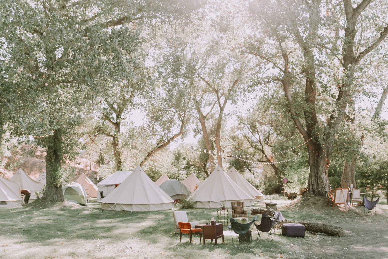 Glamping Wedding Venue | Winters, CA Wedding