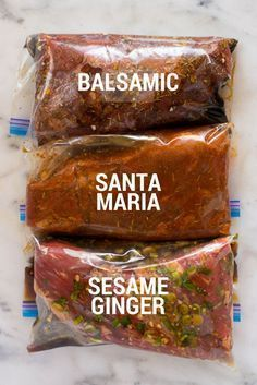 How to Marinate Tri Tip + 3 Tri Tip Marinade Recipes #marinadeforbeef