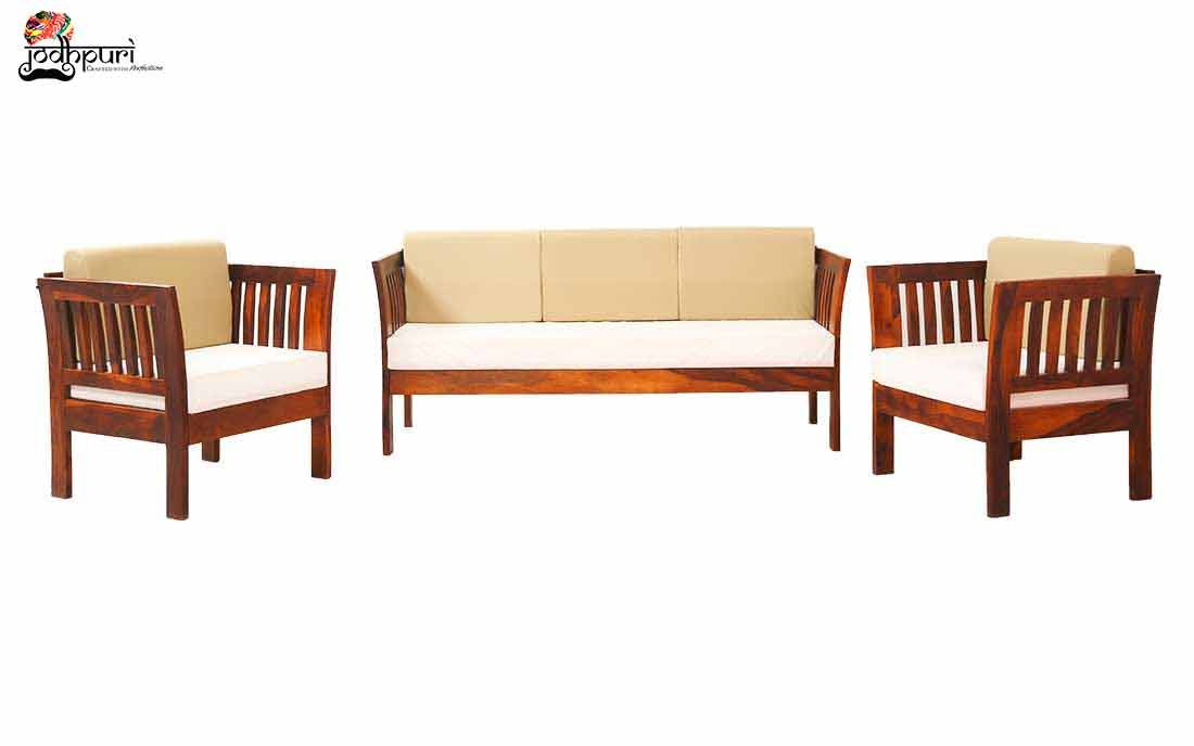 This 6 Seater Sofa Set May Be A Spacious Sofa Set That Accommodates Your Guests Comfortable And Adds Slightly Of Splendo In 2020 Wooden Sofa Set Sofa Set Spacious Sofa