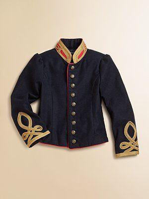 df56eee27 Ralph Lauren Toddler's & Little Girl's Military Jacket | K ...