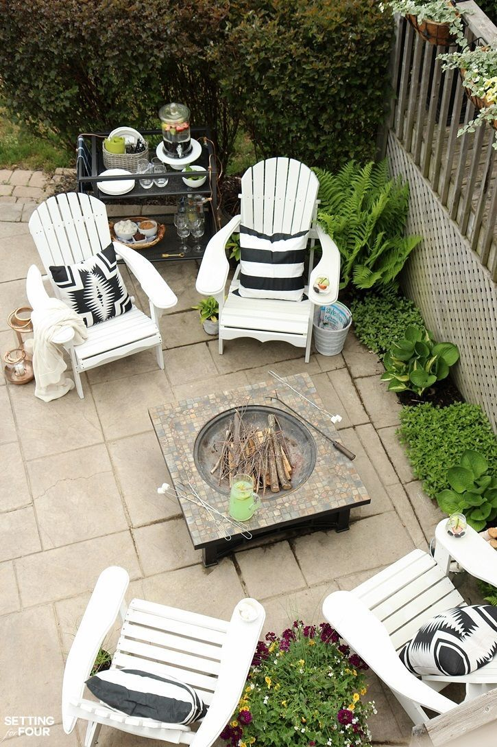 See my outdoor fire pit seating area the diy adirondack chairs my