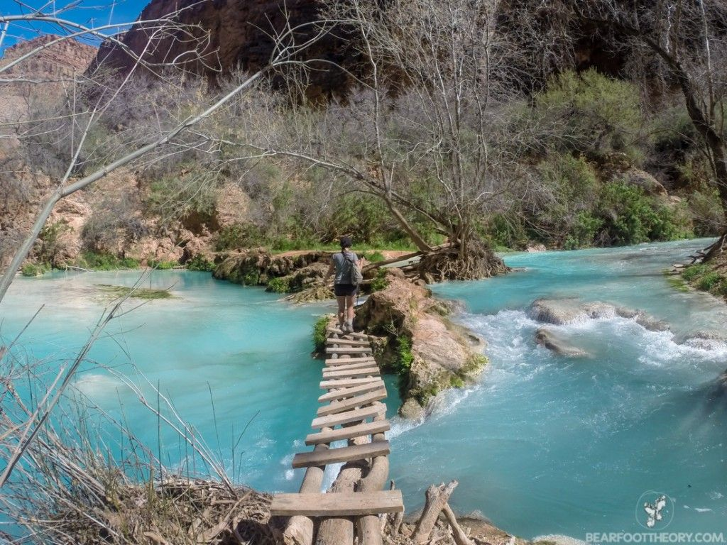 The 5 amazing waterfalls of havasu canyon pinterest indian the trail to beaver falls on the havasupai indian reservation bearfoottheory fandeluxe Image collections