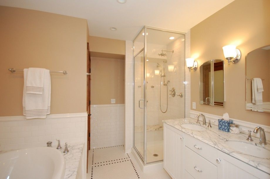 Medium Bathroom Modest Design | Cheap bathroom remodel ...