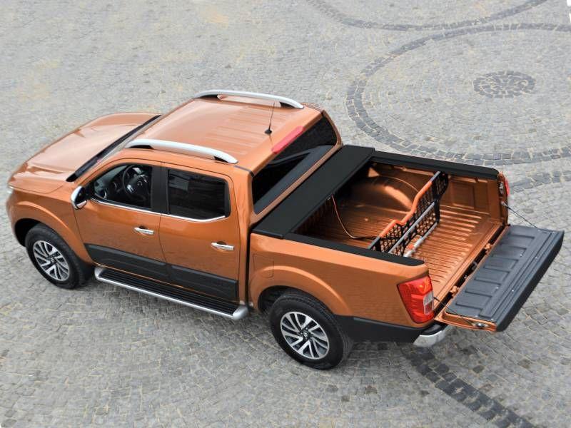 Laderaumabdeckung Nissan Navara Double Cab  in schwarz ab Baujahr 2015