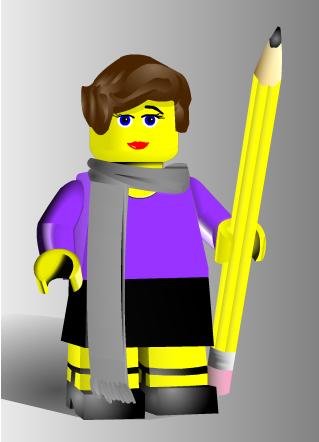 Lego Self Portrait  http://www.reasonablyclever.com/mini-mizers/mini-mizer-2-0/