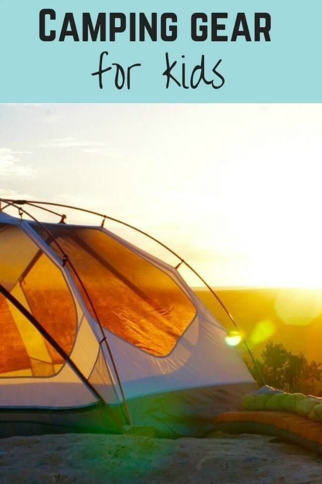 Photo of Camping gear for kids : from bedding to storage ideas