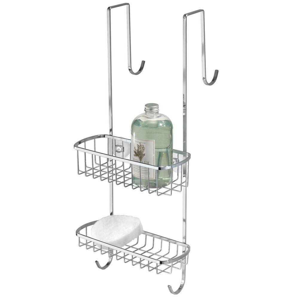 Over The Door Shower Caddy Brushed Nickel | Bathroom Utensils ...