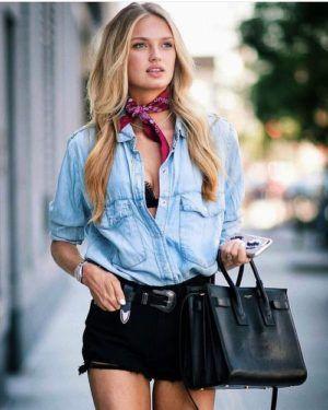 bad26b136df30 Maneras de lucir con estilo usando una camisa de mezclilla