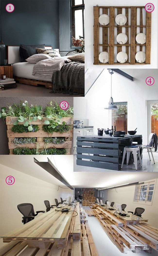 Upcycling ideas for pallets   Upcycle home, Pallet crafts ...
