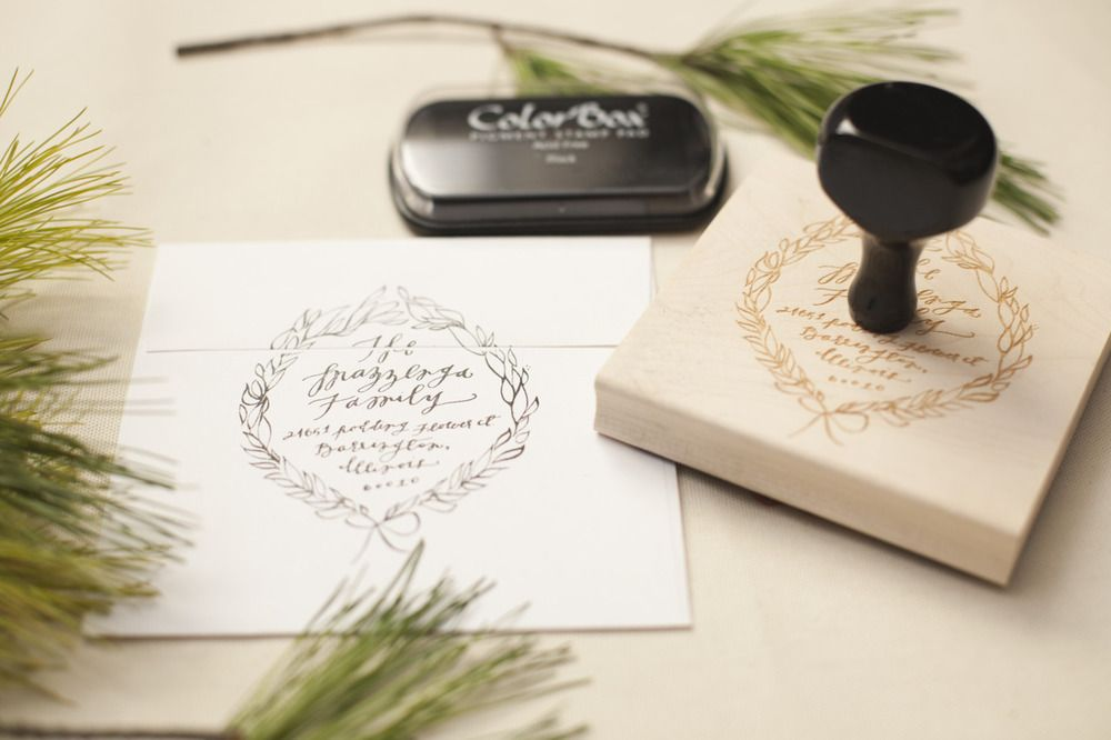 Holiday Stamp Designs — Feast Fine Art & Calligraphy