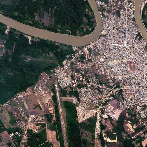 Mira las primeras imágenes enviadas por el satélite peruano Perú SAT-1 (FOTOS) - Terra Perú
