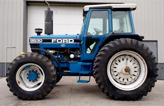 Ford 8630 Fwd Tractors Ford News New Holland Tractor