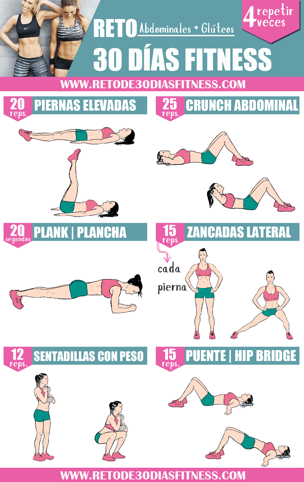 Adelgazar Muslos Exercise Abdomen Workout Challenge Fun Workouts