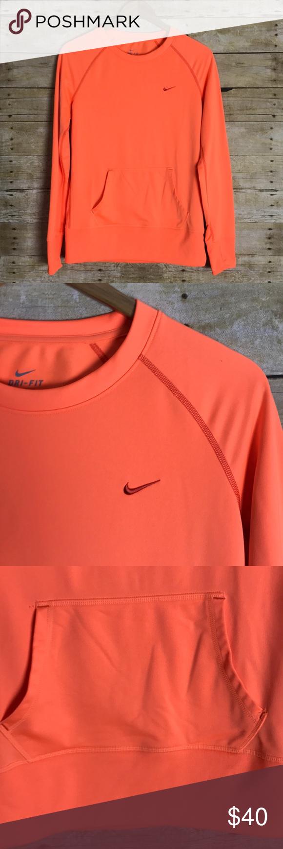 Nike Dri Fit Crew Neck Sweatshirt Sweatshirts Crew Neck Sweatshirt Long Sleeve Tshirt Men [ 1740 x 580 Pixel ]