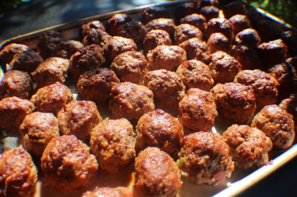 Meatballs For The Masses The Sporting Chef Recipe In 2020 Venison Recipes Venison Meatballs Ground Venison Recipes
