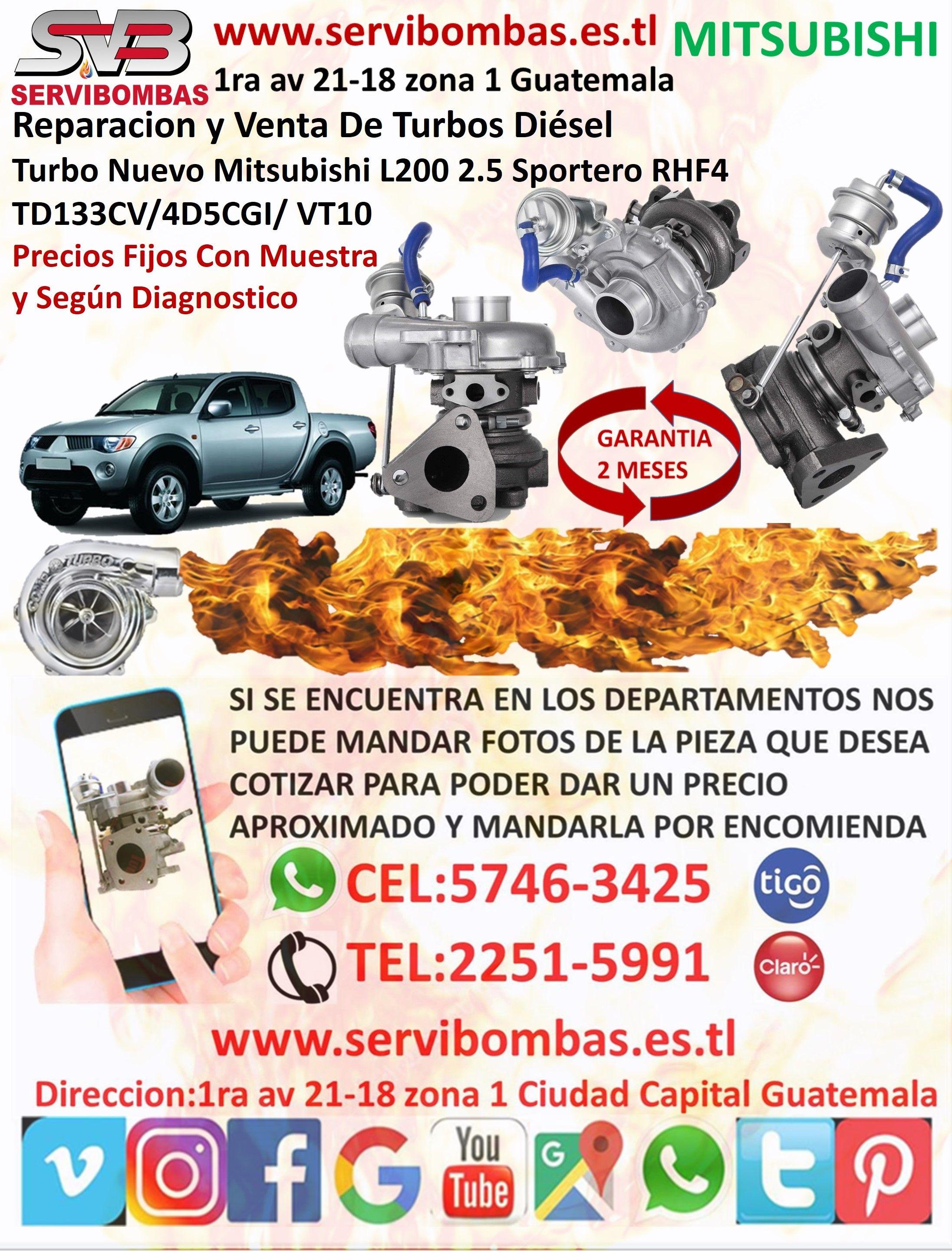 Reparacion De Turbo Pick Up Mitsubishi L200 Sportero 2 5 Rhf4 Vt10 En Guatemala In 2020 Ecards Memes