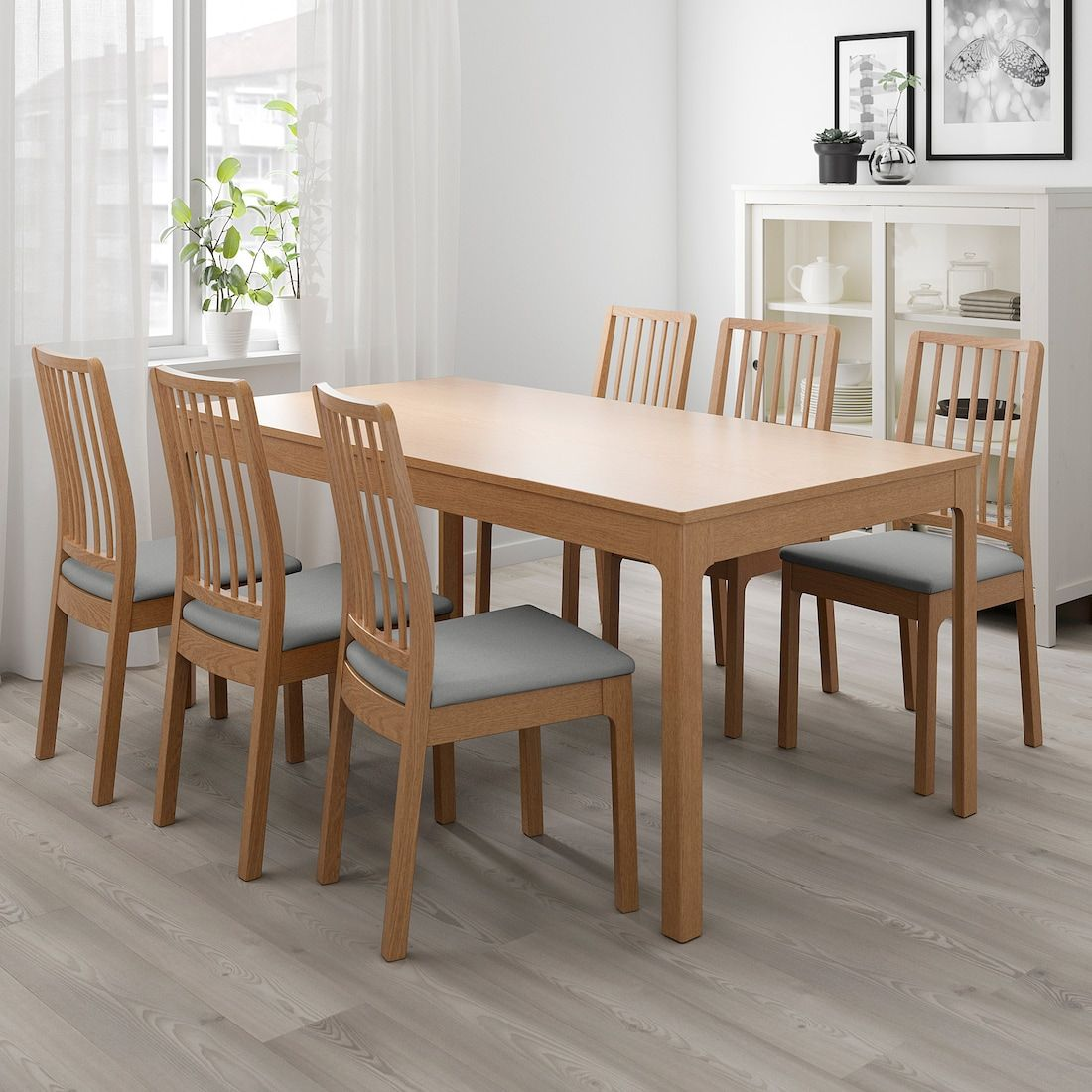 Ekedalen Table Extensible Chene 180 240x90 Cm Ikea In 2020 Eetkamersets Eetkamertafel Hout Eetkamertafel