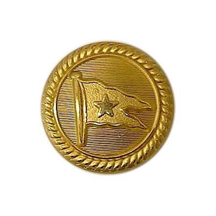 White Star Liner Gilt Button