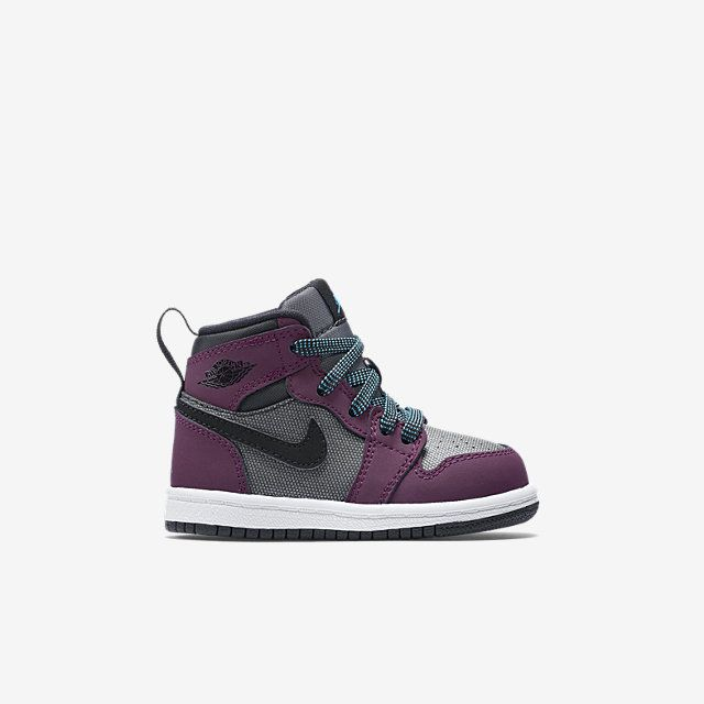 Air Jordan 1 Retro High (2c-10c) Infant/Toddler Girls' Shoe