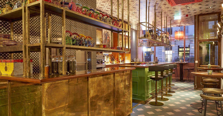 Cinnamon Bazaar is a modern Indian restaurant in Covent Garden, London, with a menu inspired by bazaar market cuisine.
