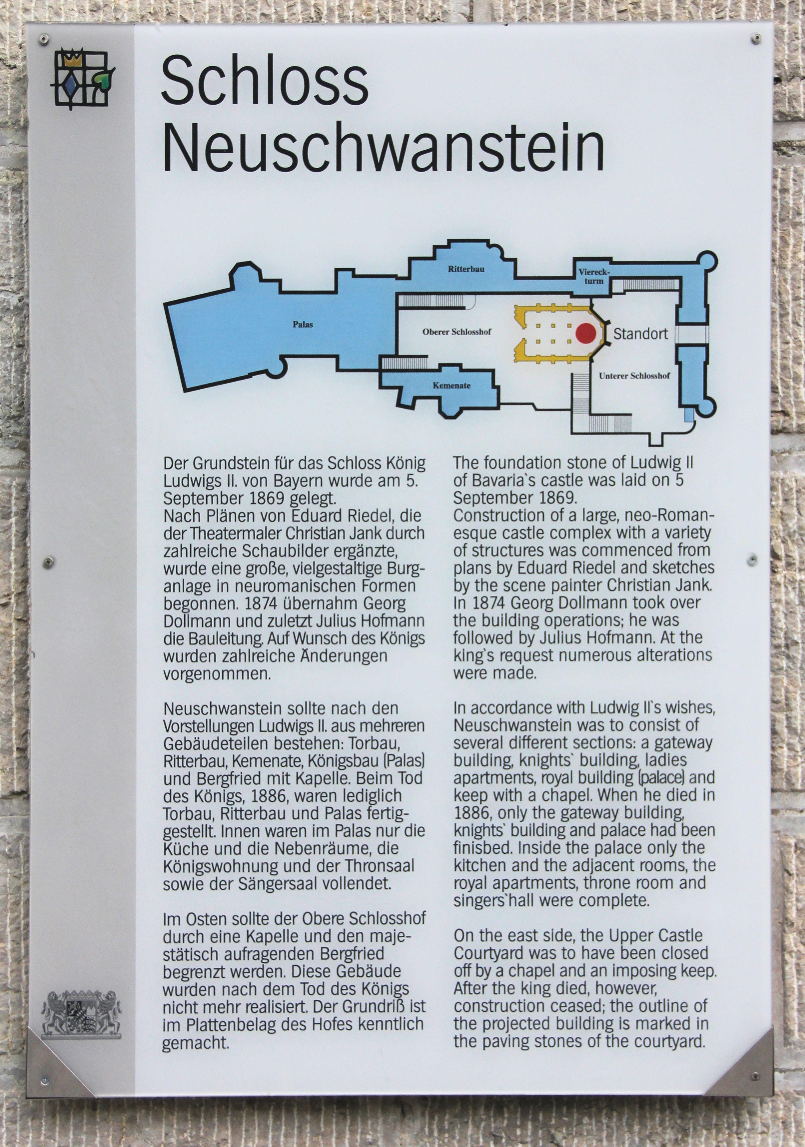 Germany Castles Dlya Polucheniya Informacii Posetite Nash Sajt Https Storelatina Com Germany Travelling Tra Neuschwanstein Schloss Neuschwanstein Schloss Hof