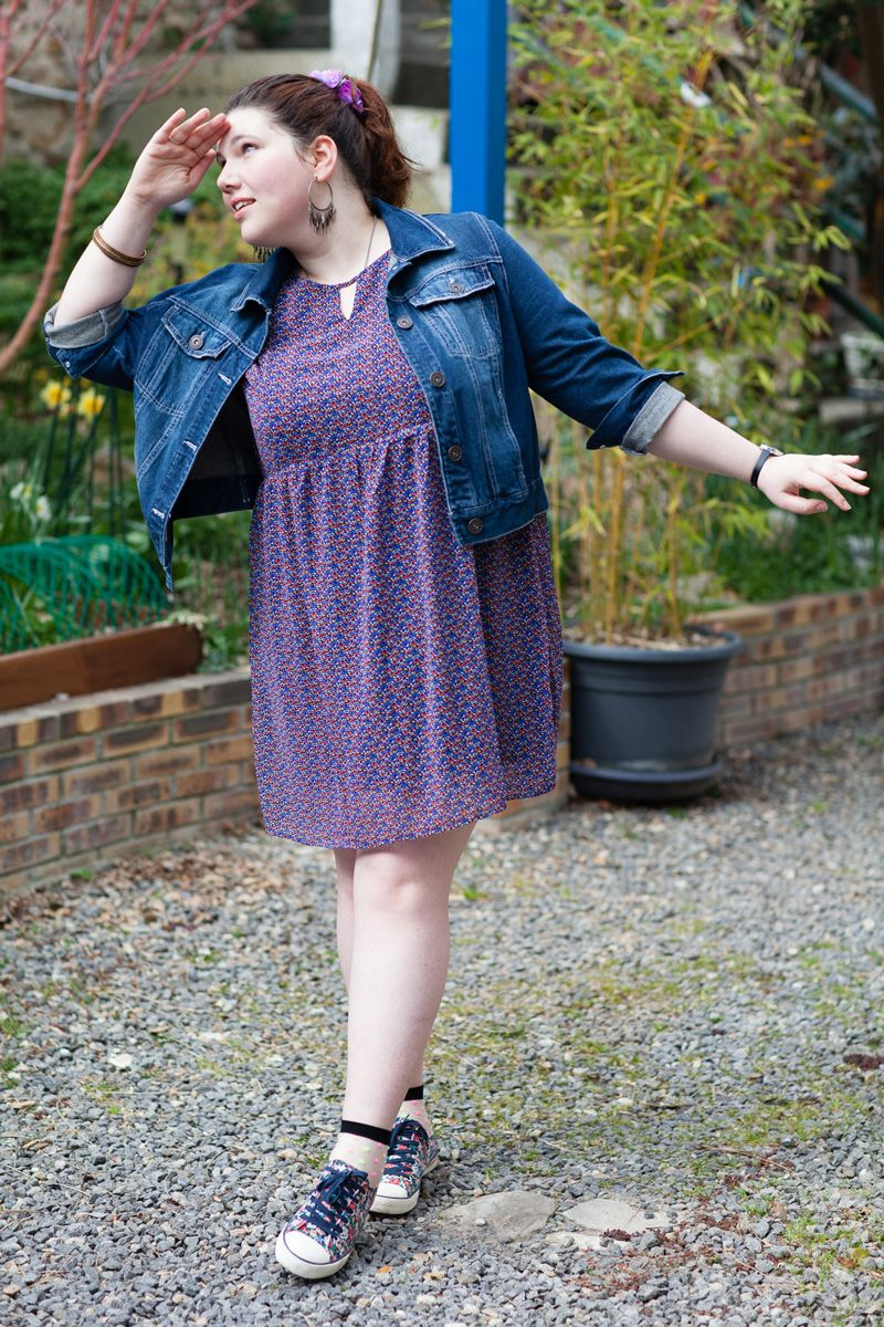 Baby doll dress 90 s outfit plus size style