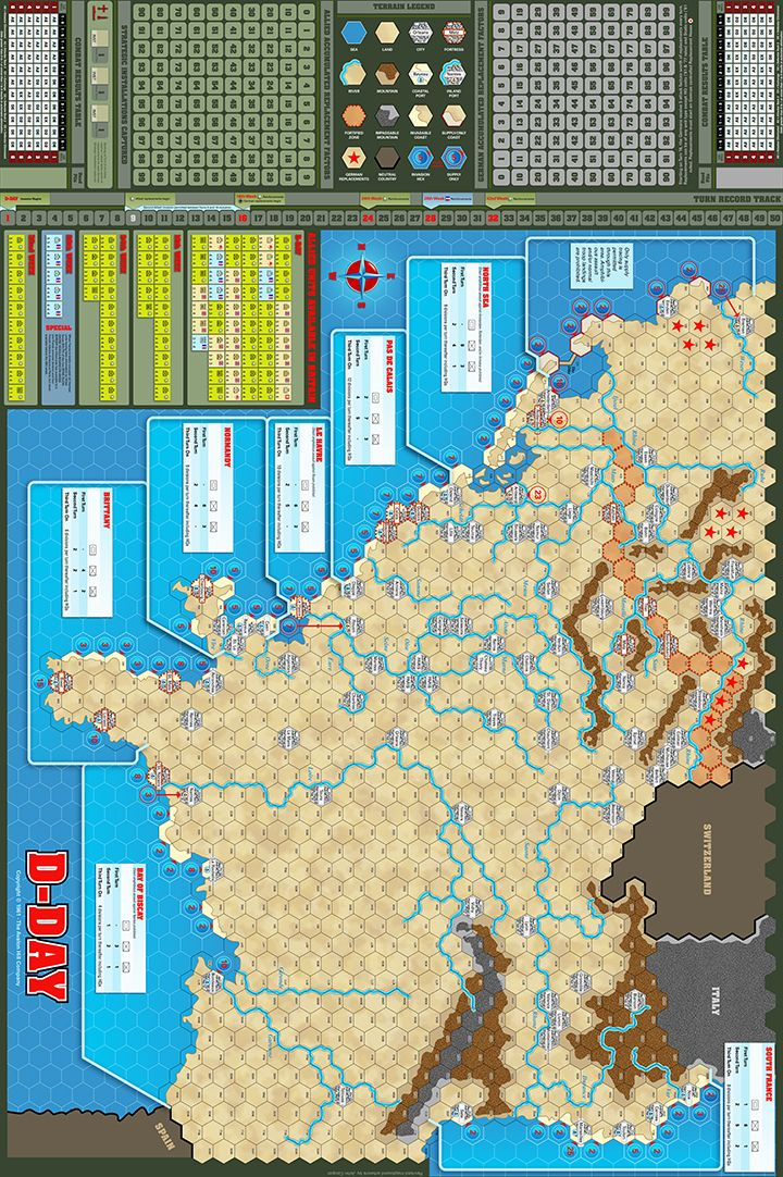 DDay Game Map John Cooper Click Image to Close (With