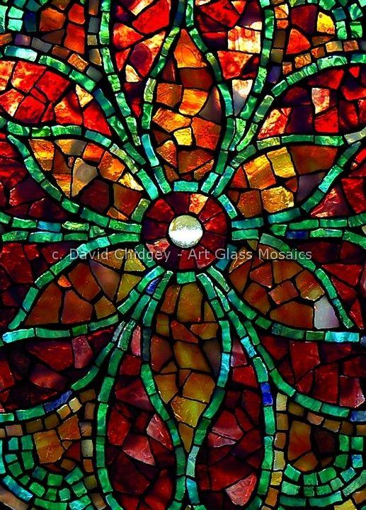 "Mosaic Tile Art /""IT/'S A WILD WONDERFUL WORLD.../"" ~ Mosaic Inserts Craft S..."