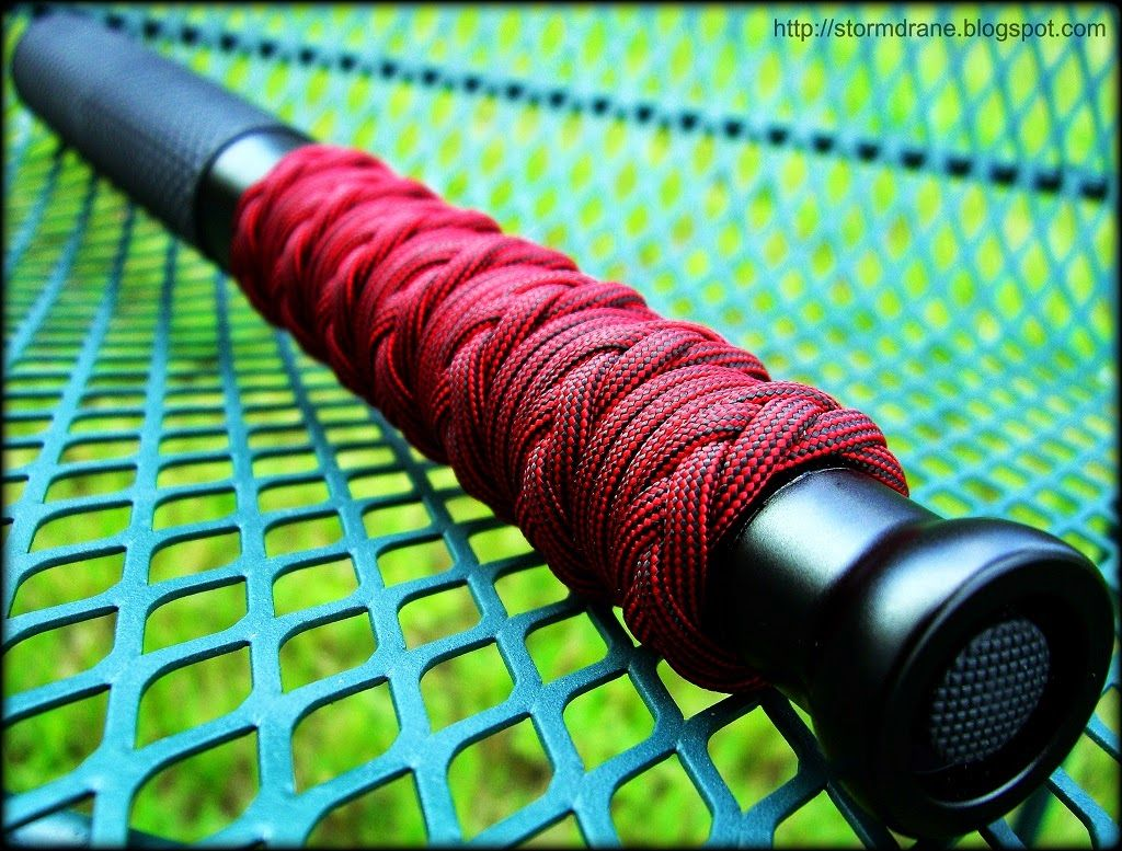 how to make a paracord handle